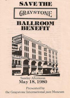 Graystone Ballroom - Artifacts — Historic Detroit