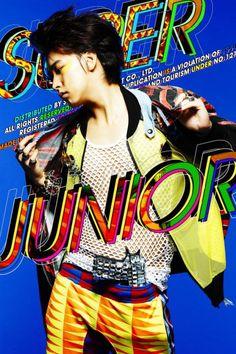 Offbeat art direction in mainstream k-pop - anyone else seeing 80s/90s here? (Super Junior - Mr Simple Album)