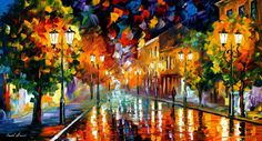 Remembering — PALETTE KNIFE Oil Painting On Canvas By AfremovartStudio. Official Shop: https://www.etsy.com/shop/AfremovArtStudio