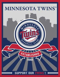 Minnesota Twins Speakman art (Target)
