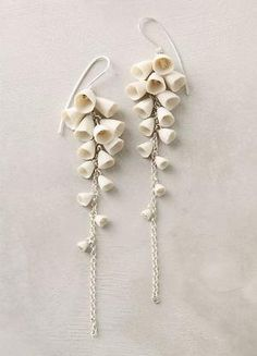 Lily-Of-The-Valley Drops-Anthropologie.com