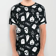 Boo All Over Print Shirt