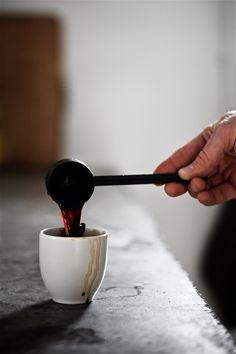 Espresso made with AeroPress