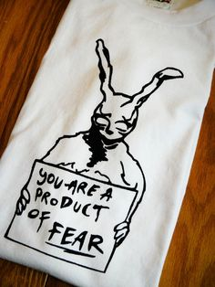 Donnie Darko Inspired Frank the Rabbit by nimbusprintshop on Etsy