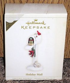 Hallmark Keepsake Holiday mail Christmas Ornament 2006