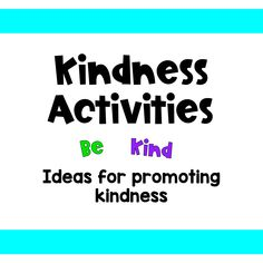 48 Best Kindness Activities images in 2019   Kindness