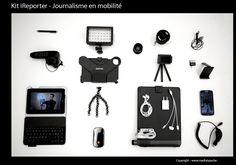 Kit iReporter pour iPad mini - Journalisme en mobilité par Nicolas Becquet | L'atelier des médias | RFI
