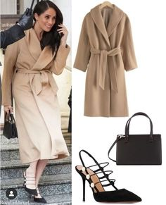 The Duke and Duchess of Sussex were spotted leaving the Goring Hotel in London; they will attend the Endeavour Fund awards later today March)💕 Meghan Markle Coat, Estilo Meghan Markle, Meghan Markle Outfits, Meghan Markle Style, Royal Beauty, Princess Meghan, Royal Weddings, Royal Fashion, Duke And Duchess