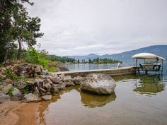 Home for Sale - 9623 SW Whitepoint RD, Vernon, BC V1H 1K8 - MLS® ID 10087977. Lake front property for sale in BC. Vernon, Okanagan, Kelowna land for sale. private lake-shore with a beautiful red sandy beach, which offers pristine waters on the amazing Okanagan Lake. A must see as this 3000 square foot home has a natural park like setting Investment Property, Property For Sale, Vernon Bc, Lakefront Property, Lake Front, Lake Shore, Lots For Sale, Natural Park, Residential Real Estate