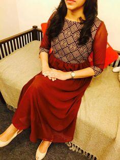 Salwar Neck Designs, Kurta Neck Design, Kurta Designs Women, Dress Neck Designs, Blouse Designs, Salwar Pattern, Kurti Patterns, Indian Designer Outfits, Designer Dresses