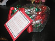 measuring cup gift with poem