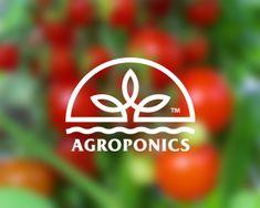 AGROPONICS Designed by Stulgin | BrandCrowd $250 #agro #eco #greenhouse…
