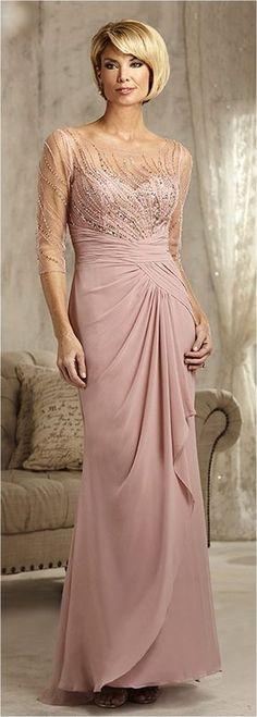Elegant Mother Of The Bride Dresses Trends Inspiration & Ideas (38)