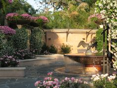 Fountain At Trout River Gardens Plaza Jacksonville Zoo And
