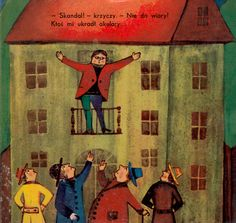 Illustration by Bohdan Wróblewski; Author: Julian Tuwim; TItle: Okulary