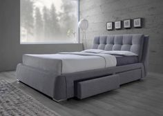 Dimensions:  Queen   70 W x 96 D x 39″ H  King       86 W  x 96 D  x 39″ H *Box Spring Required*