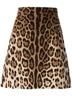 Shop Dolce & Gabbana leopard skirt in A.M.R. from the world's best independent boutiques at farfetch.com. Over 1000 designers from 60 boutiques in one website.