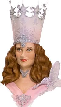 Diy glinda the good witch crown the wizard of oz for Glinda the good witch crown template
