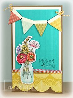 FTTC181 Garden Picks Banner card (by Broni Holcombe)  #Flourishes