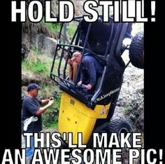 Rock crawler photo! Aaron has one like this haha