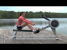 Roeitechniek Concept2 roeimachine.mov - YouTube