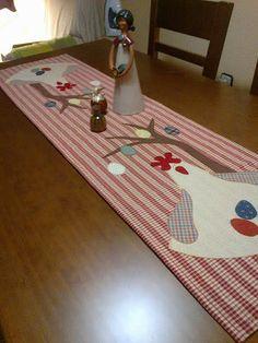 patchwork, camí de taula