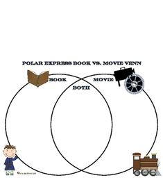 Compare polar express movie to book