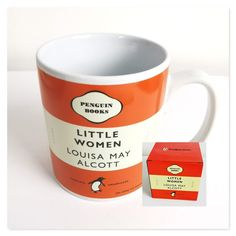 Louisa May Alcott, Cool Mugs, Penguin Books, Boxing News, Usa News, Book Title, Book Collection, Mug Cup, White Porcelain