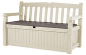 Keter Eden Garden Bench - Review and Giveaway - A Mom's Take