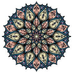Here is the color version, tried to use warm colors ( not sure if they really are warm colors) per  @pfpfdfdmj333 suggestion. And some blue and purple per @giftedheartspiritdolls #illustration #drawing #blxckmandalas #artist #mandaladesign #drawing #mandala #beautiful #kaleidoscope #kaleidoscopic #heymandalas  #beautiful_mandalas #geometry  #drawing #symmetry  #artoftheday  #mandalala #wacom  #zentangle #mandalasworld #featuregalaxy #mandalamaze #symmetrybuff #zen_dala #symmetry_art…