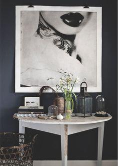 Black & White | Natural | Modern Home Interiors | Contemporary Decor Design #inspiration #nakedstyle
