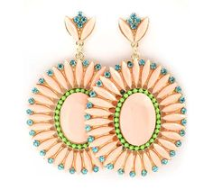 Melody Earrings in Sunrise on Emma Stine Limited