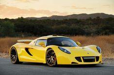 Yellow Hennessey Venom GT
