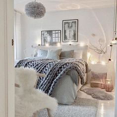 Cozy bedroom design cozy bedroom design cozy bedroom decor brilliant decor need this room in my Dream Rooms, Dream Bedroom, Home Decor Bedroom, Teen Bedroom, Light Bedroom, Bedroom Bed, Master Bedrooms, Bedroom Furniture, Furniture Plans