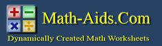 Free Math Worksheets for algebra, decimals, division, estimation, exponents, fact families, factors, flash cards, fractions, geometry, graphing, money, percents, probability and much more!