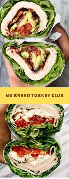 NO BREAD TURKEY CLUB #Breakfast Avocado Recipes, Lunch Recipes, Breakfast Recipes, Healthy Recipes, Breakfast Club, Low Carb Ground Turkey Recipe, Ground Turkey Recipes, Avocado Cookies, Small Tomatoes