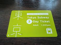 Tempting East: TOKYO'S 6 TRANSPORTATION PASS THAT WILL MAKE YOU A SMART TRAVELER