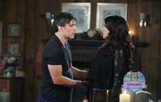 'Days of Our Lives' spoilers tease that Deimos [Vincent Irizarry] will find himself in what could be a very volatile situation. Without even knowing it Deimos is smack dab in the middle of a long and complicated triangle involving Chloe [Nadia Bjorlin], Kate [Lauren Koslow] and Nicole [Arianne Zucke