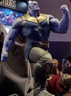 This is what 'Thanos' looks like in 'Avengers: Infinity War' (2018)