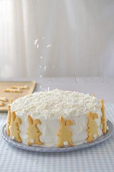 Gâteau coco passion amuses bouche