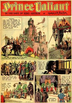 Hal Foster — Prince Valiant 14