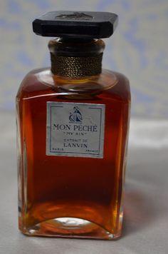 My Sin (Mon Peche) perfume was created in 1924.