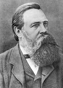 Friedrich Engels (1820-1895). German philosopher & social scientist who founded Marxist theory with Karl Marx.
