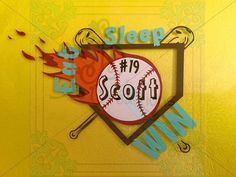 Team Decals! This one can be Softball or Baseball! The actual ball is flying with a fireball and hitting bases to OUT your opponents! Show your team your pride and sportsma... #etsy #leftbraincreations #halloween2016 #shannarabon #shannacorwin #fallsale2016 #tealpumpkinproject #teal2016 #allergybags #allergyalertbags ➡️ http://jto.li/sSnfv