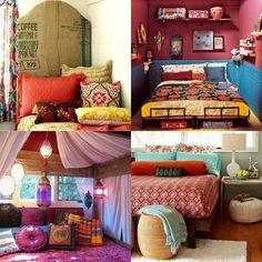 Indie/bohemian bedroom ideas