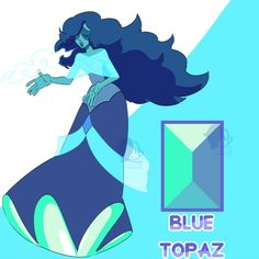 A - Blue Topaz by Seopai