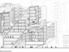 "Spike LIU & Mark A. SANTA INES, ""Eccentric Housing."" Section."