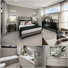 Be inspired to create this #homedesign with built in wardrobes and ensuite #bathroom in the master bedroom from @mastertonhomes. On display at #Thornton! --- #homeidea #homeinspo #homeinspiration #homestyle #bed #bedroomview #bedroomdesign #bedroomdecor #bedroomideas #bedroomstyling #bedroominspiration #beds #bedroomgoals #bestbedrooms #bedroominspo #bathroompic #bathroompics #bathrooms #bathroomshot #bathroompicture #Bathroomart #bathroompictures #bathtub