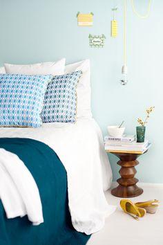 Double Sided Chain Print Decorative Pillow / Cushion via Etsy.