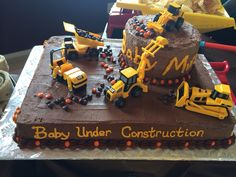 Construction Baby Shower